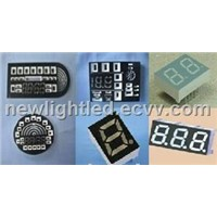 LED Seven-Segment Digital Display