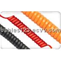 PVC Spiral Cables