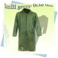 Rain Coat Waterproof Garments/ pu pvc waterproof parka