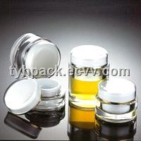Plastic Round Cream Jar