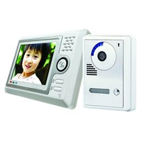 2.4GHz Digital Wireless Memory Video Door Phones