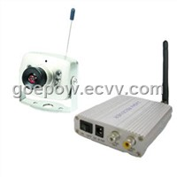 2.4GHz Ultra-Small Wireless CMOS Security Camera