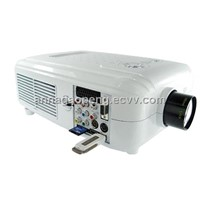 3.5 Inch LCD Projector Supports HDMI, USB, Card Reader Input