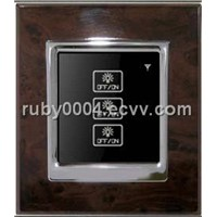 3-Gang Intelligent Light Remote Control Switch