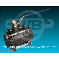 3 PC Carbon Stell Ball Valves (WB05)