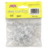 50PC Round Wire Clip (ZY104)