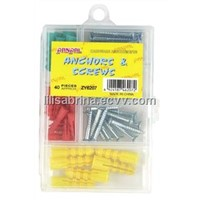 57PC Screw&Anchor Set (ZY6207)