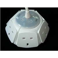 6 AC UK Outlet Socket