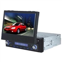 7 inch 1 din Car DVD player with Bluetooth/IPOD/RDS