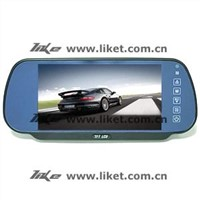7-inch Rearview Mirror Monitor with Touch screen
