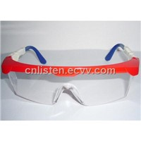 Angle Adjustable Safety Glasses(Red)