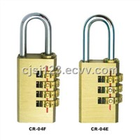 Brass Combination Lock (CR-04E/04F)