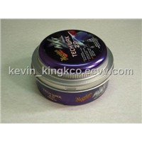 Car Wax Tin