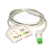 Compatible FUCKDA patient monitor 12-Ld Trunk cable