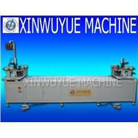 Dou-Head Corner Combining Machine for Alu-Door-Window