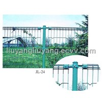 Double circle fencing wire mesh