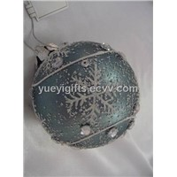 Glass Ball Ornaments for Christmas Tree Decorations