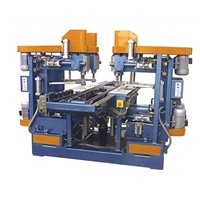 Glass Vertical Auto 4 hole Drilling Machine