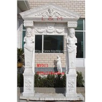 Hand Carved Marble Door And Window