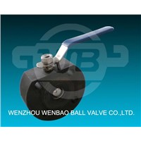 Italian Type Carbon Stell Thin Ball Valves (WB113)