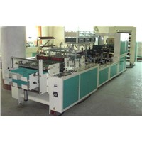 LR-B600 Cybernated Plastic Film Stationery Inside Page Double Line Sealing & Cutting Machine
