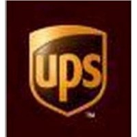Large UPS International Express Cargo