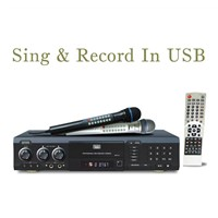 MIDI Karaoke DVD Player with Recorder+USB+Card Reader (DVP-10)