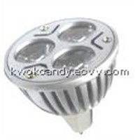 LED Spotlight (HK-MR16-3*1W-A)