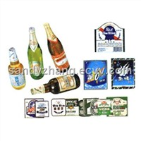 Metallized Wine Label Paper