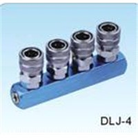 Multipass Quick Fitting Pneumatic Fittings (DLJ-4)