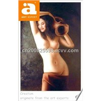 FREE SAMPLE Nude oil painting
