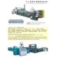 Pvc Plastic Sheet/Film Extrusion Machine Set