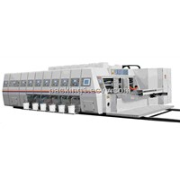 Printing Slotting and Die Cutting Machine