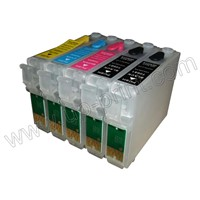 Refillable Ink Cartridge for Epson Workforce30/40/500/600