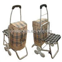Shopping Trolley with Seat (KLD-2452)