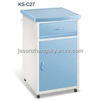 Steel Powder Coated Bedside Locker