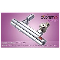Thermostatic Shower Faucet for Solar Hot Water Heater