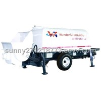Trailer Concrete Pump (HBT40)
