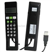 USB skype Phone with LED screen