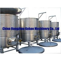 Variable Capacity Stainless Steel Winery Tank