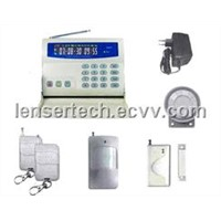 Voice LCD GSM home alarm systems