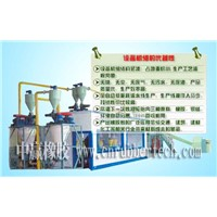 Waste Tire Treatment Production Line