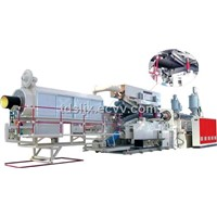 Double Wall Corrugated Pipe Production Line (YL-PE800)