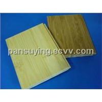 natural and carbonized bamboo parquet floor