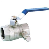 Brass Ball Valve with Drain (HB32)