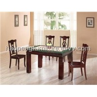 Dining Set with Marble Table (209 E stand)
