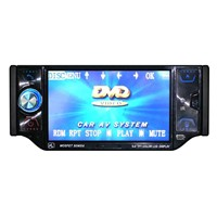 single DIN car DVD with 5inch monitor