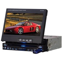 single DIN in-dash car DVD