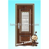 Steel Security Door (GJ-12)