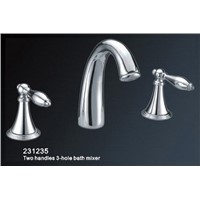 Two Handles 3-Hole Bath Mixer (HY231235)